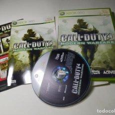 Videojuegos y Consolas: CALL OF DUTY 4 ( XBOX 360 - PAL -ESP) G2 -S. Lote 290050088