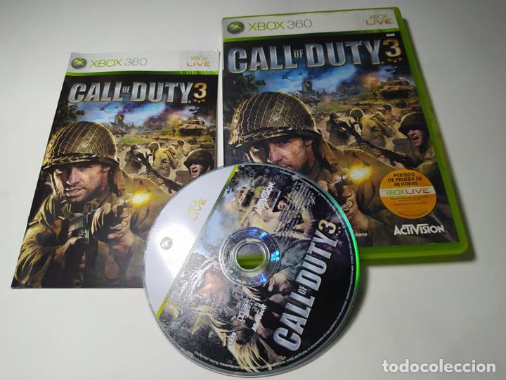 CALL OF DUTY 3 ( XBOX 360 - PAL -ESP) G2 -S (Juguetes - Videojuegos y Consolas - Microsoft - Xbox 360)