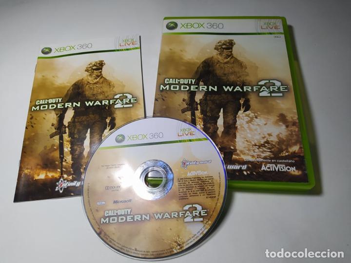 CALL OF DUTY MODERN WARFARE 2 ( XBOX 360 - PAL -ESP) G2 -S (Juguetes - Videojuegos y Consolas - Microsoft - Xbox 360)