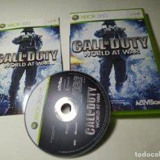 Videojuegos y Consolas: CALL OF DUTY WORLD AT WAR ( XBOX 360 - PAL -ESP) G2 -S. Lote 290050303