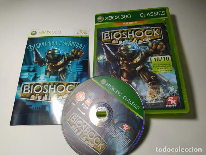 BIOSHOCK ( XBOX 360 - PAL -ESP) G2 -S (Juguetes - Videojuegos y Consolas - Microsoft - Xbox 360)