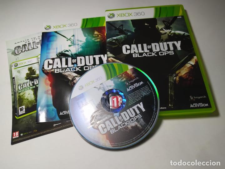 CALL OF DUTY BLACK OPS ( XBOX 360 - PAL -ESP) G2 (Juguetes - Videojuegos y Consolas - Microsoft - Xbox 360)
