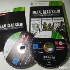 Videojuegos y Consolas: METAL GEAR SOLID HD COLLECTION ( XBOX 360 - PAL -ESP) G2. Lote 290050528