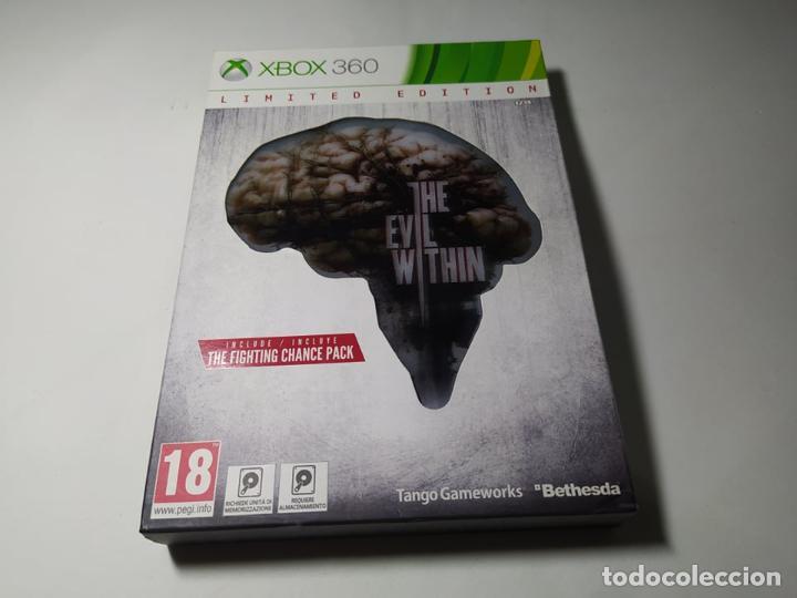 THE EVIL WITHIN ( LIMITED EDITION) ( XBOX 360 - PAL -ESP) G2 (Juguetes - Videojuegos y Consolas - Microsoft - Xbox 360)