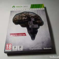 Videojuegos y Consolas: THE EVIL WITHIN ( LIMITED EDITION) ( XBOX 360 - PAL -ESP) G2. Lote 290050603