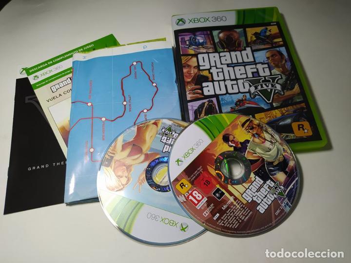 GRAND THEFT AUTO V ( XBOX 360 - PAL -ESP) G2-S (Juguetes - Videojuegos y Consolas - Microsoft - Xbox 360)