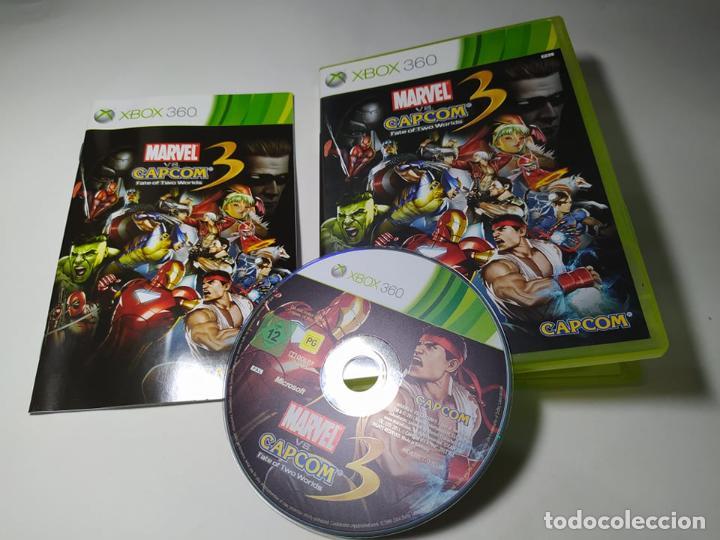 MARVEL VS CAPCOM 3 FATE OF TWO WORLDS ( XBOX 360 - PAL -ESP) G2 (Juguetes - Videojuegos y Consolas - Microsoft - Xbox 360)