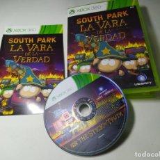 Videojuegos y Consolas: SOUTH PARK - LA VARA DE LA VERDAD ( XBOX 360 - PAL -ESP) G2. Lote 290085658