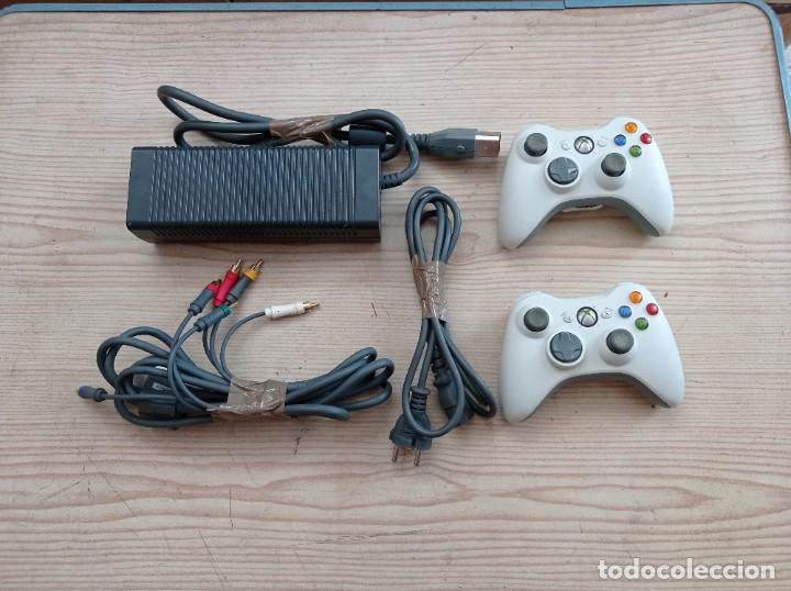 Videojuegos y Consolas: Consola Xbox 360 20 GB - 2 Mandos - Fuente De Alimentacion - Cable Componentes - Flasheada - Foto 7 - 290115518