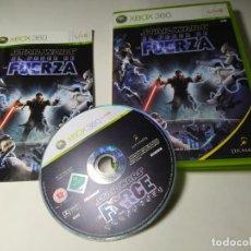 Videojogos e Consolas: STAR WARS EL PODER DE LA FUERZA ( XBOX 360 - PAL - ESP). Lote 292028283