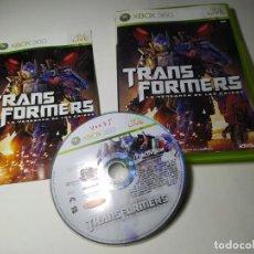 Videojuegos y Consolas: TRANSFORMERS - LA VENGANZA DE LOS CAIDOS (XBOX 360 - PAL - ESP). Lote 293720488