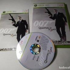 Videojuegos y Consolas: 007 - QUANTUM OF SOLACE (XBOX 360 - PAL - ESP). Lote 293720568