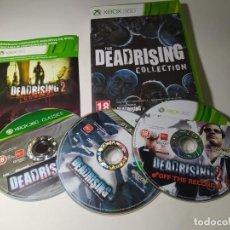Videojuegos y Consolas: THE DEADRISING COLLECTION (XBOX 360 - PAL - ESP)(1). Lote 293720723