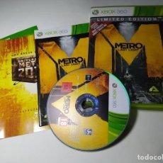Videogiochi e Consoli: METRO LAST LIGHT (XBOX 360 - PAL - ESP)(1). Lote 293723723