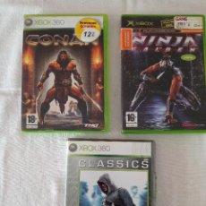 Videojuegos y Consolas: LOTE JUEGOS XBOX 360. VER FOTOS Y LEE LA DESCRIPCIÓN!. Lote 293782633