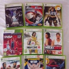 Videojuegos y Consolas: LOTE JUEGOS XBOX 360. VER FOTOS Y LEE LA DESCRIPCIÓN!. Lote 293788548