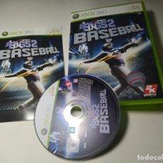 Videojuegos y Consolas: THE BIGS 2 BASEBALL ( XBOX 360 - PAL - ESP) G2. Lote 295044273