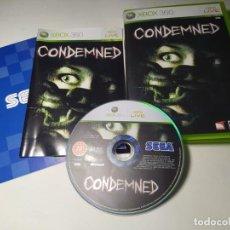 Videojuegos y Consolas: CONDEMNED ( XBOX 360 - PAL - ESP) G2. Lote 295044823