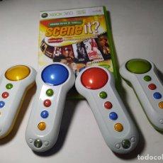 Videojuegos y Consolas: SCENE IT ? TAQUILLA + 4 MANDOS ( XBOX 360 - PAL - ESP) G2. Lote 295272433
