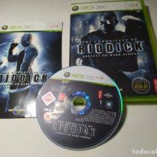 Videojuegos y Consolas: CRONICAS DE RIDDICK ( XBOX 360 - PAL - ESP) G2. Lote 295272518