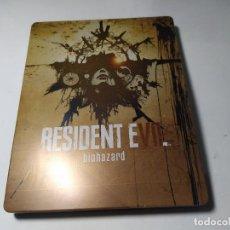 Videojuegos y Consolas: STEELBOOK RESIDENT EVIL BIOHAZARD ( SIN EL JUEGO) ( XBOX 360 - PS3 ). Lote 295272863