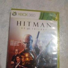 Videojuegos y Consolas: HITMAN HD TRILOGY TRES JUEGOS EN DOS DISCOS PARA XBOX 360. Lote 295457913