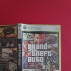 Videojuegos y Consolas: GRAND THEFT AUTO IV XBOX 360. Lote 295639188
