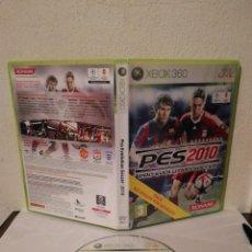 Videojuegos y Consolas: VIDEOJUEGO ORIGINAL - PES 2010 PRO EVOLUTION SOCCER - XBOX 360. Lote 295755108