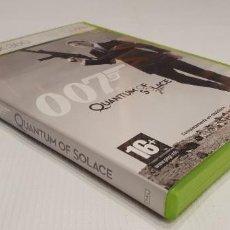 Videojuegos y Consolas: 007 QUANTUM OF SOLACE XBOX 360 PAL ESP CON LIBRETO R. Lote 295872343