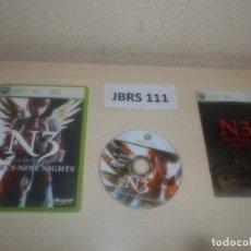 Videojuegos y Consolas: XBOX 360 - N3 NINETY-NINE-NIGHTS , PAL ESPAÑOL , COMPLETO. Lote 295948728