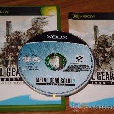 Videojuegos y Consolas: METAL GEAR SOLID 2 SUBSTANCE - XBOX. Lote 20603269