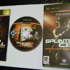 Videojuegos y Consolas: JUEGO SPLINTER CELL ,, PARA XBOX. Lote 26251694
