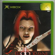 Videojuegos y Consolas: BLOODRAYNE-VIDEOJUEGO XBOX - CON MANUAL. Lote 30675530