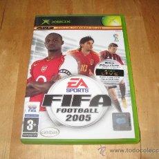 Videojuegos y Consolas: JUEGO XBOX NO 360 - FIFA FOOTBALL 2005 - DEPORTES - FÚTBOL - EA SPORTS MICROSOFT. Lote 31455434