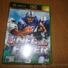 Videojuegos y Consolas: NFL FEVER XBOX CON INSTRUCIONES PRACTICAMENTE NUEVO. Lote 31651740