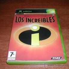 Videojuegos y Consolas: LOS INCREIBLES XBOX - REFª (JC). Lote 31999937