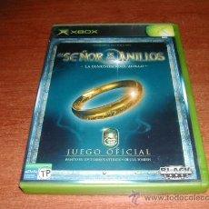 Videojuegos y Consolas: EL SEÑOR DE LOS ANILLOS - LA COMUNIDAD DEL ANILLO - XBOX - REFª (JC). Lote 44067550