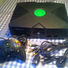 Videojuegos y Consolas: CONSOLA MICROSOFT XBOX PAL COMPLETA FUNCIONANDO CORRECTAMENTE. Lote 32929615