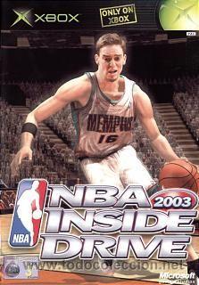 NBA INSIDE DRIVE 2003 [XBOX PAL ESPAÑA] (Juguetes - Videojuegos y Consolas - Microsoft - Xbox)