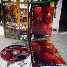 Jeux Vidéo et Consoles: SPIDERMAN 2 II XBOX XBOX-360 PAL ESPAÑA COMPLETO IMPECABLE MARVEL. Lote 35997077