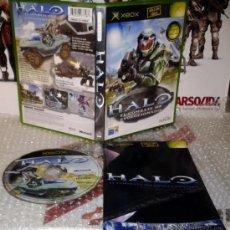 Videojuegos y Consolas: HALO 1 XBOX PAL ESPAÑA COMPLETO 1ª EDICION. Lote 36019941