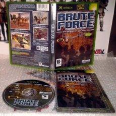 Videojuegos y Consolas: BRUTE FORCE XBOX PAL ESPAÑA COMPLETO . Lote 36050823