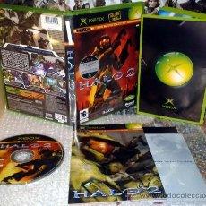 Videojuegos y Consolas: HALO 2 II XBOX PAL ESPAÑA COMPLETO IMPECABLE. Lote 36050985