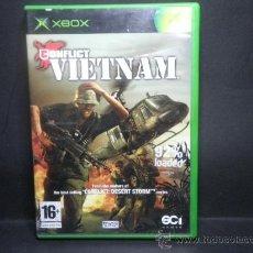 Videojuegos y Consolas: XBOX CONFLICT VIETNAM. Lote 36385631