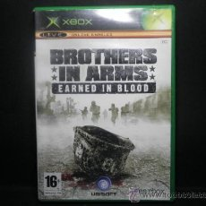 Videojuegos y Consolas: XBOX BROTHERS IN ARMS EARNED IN BLOOD. Lote 36385910