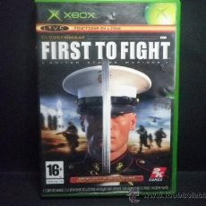 Videojuegos y Consolas: XBOX FIRST TO FIGHT UNITED STATES MARINES. Lote 36947530