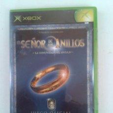 Videojogos e Consolas: EL SEÑOR DELOS ANILLOS -LA COMUNIDAD DEL ANILLO -JUEGO OFICIAL-2002-XBOX. Lote 37479776
