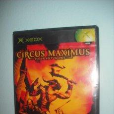 Videojuegos y Consolas: CIRCUS MAXIMUS CHARIOT WARS - PARA XBOX - IMPECABLE - MANUAL DEL JUEGO EN ESPAÑOL E INGLES. Lote 43118951