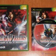 Videojuegos y Consolas: JUEGO XBOX SAMURAI WARRIORS. Lote 44850332