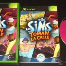 Videojuegos y Consolas: JUEGO XBOX LOS SIMS TOMAN LA CALLE. Lote 44903864